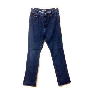 DKNY Soho blue high waist stretch skinny jeans